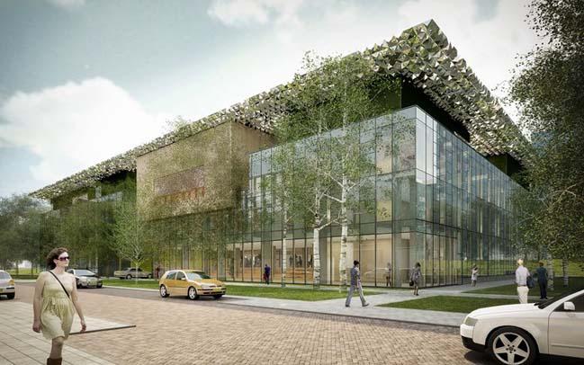 Goede Doelen Loterijen Office by Benthem Crouwel Architects