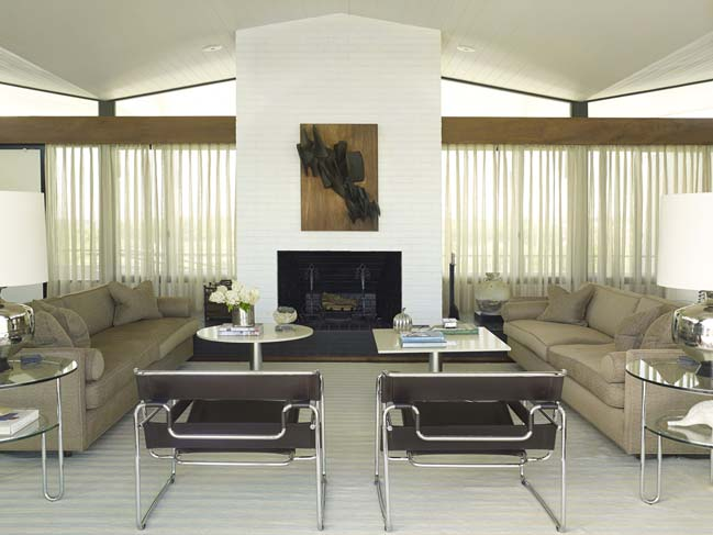 Mid-century modern house by Austin Patterson Disston