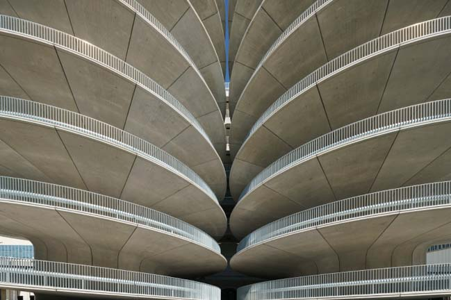 Car Park RAI in Amsterdam by Benthem Crouwel Architects