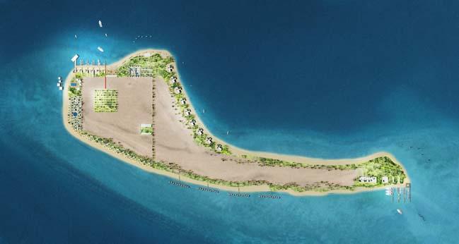 Amenah Island by ACAU