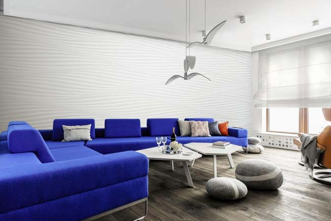Contemporary apartment in Gdynia by meinDESIGN