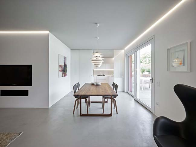 CW apartment by Burnazzi Feltrin Architects