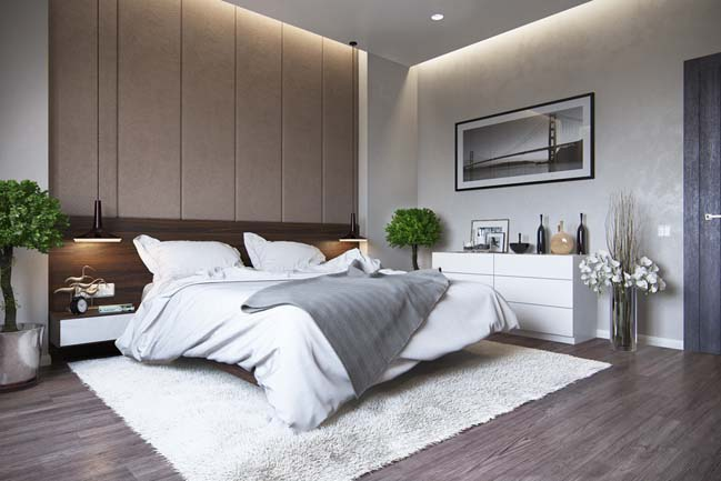 30 great modern bedroom design ideas update 08 2017 for Bedroom interior design images