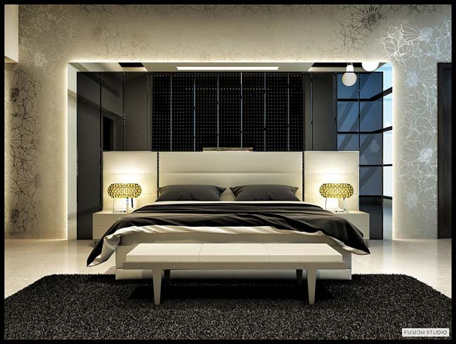 30 great modern bedroom design ideas update 08 2017 for Bed room interior design images