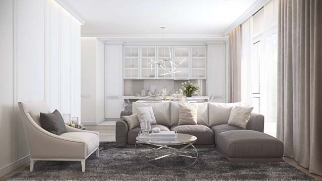 Luxurious apartment by MUSA Studio