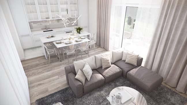 Vanilla Sky Apartment by MUSA Studio