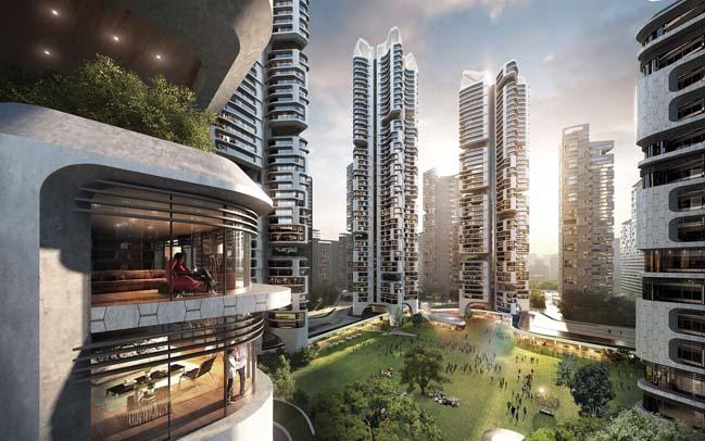 Masterplan Eunma Housing Development in Seoul
