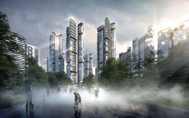 Masterplan Eunma Housing Development in Seoul