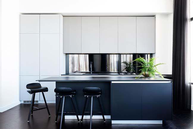 Modern penthouse apartment in Melbourne by Zunica Design