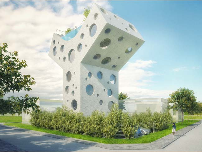 Y House concept by MVRDV