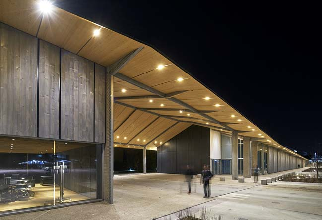 Under One Roof by Kengo Kuma and Associates