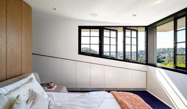 Bougainvillea Row House by Luigi Rosselli Architects