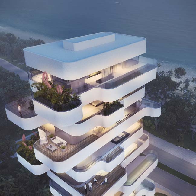Unique residential tower in Cyprus by Orange Architects