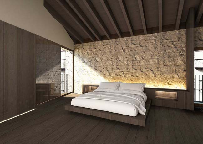 Modern house in the old quarter by Ramón Esteve Estudio