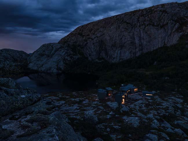 Modern weather-proof lodges in Norway by KOKO