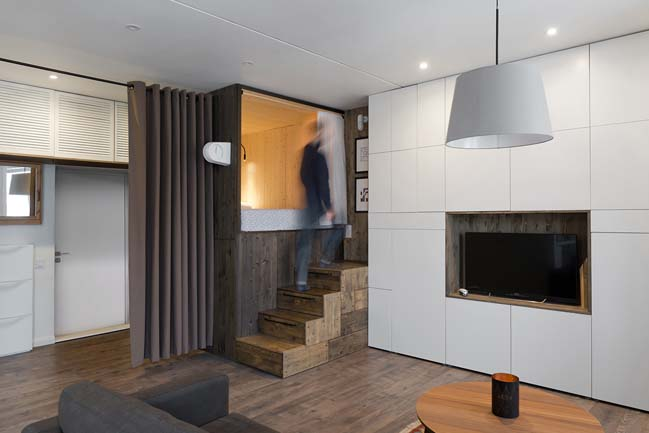 Small 35m2 apartment by Studio Bazi