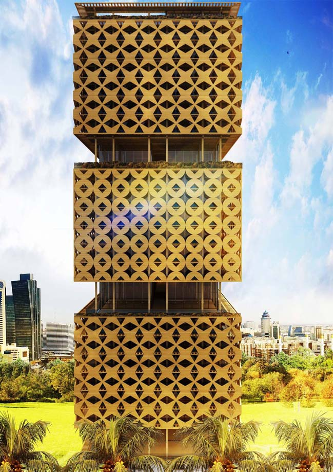 Lagos's Wooden Tower by HKA