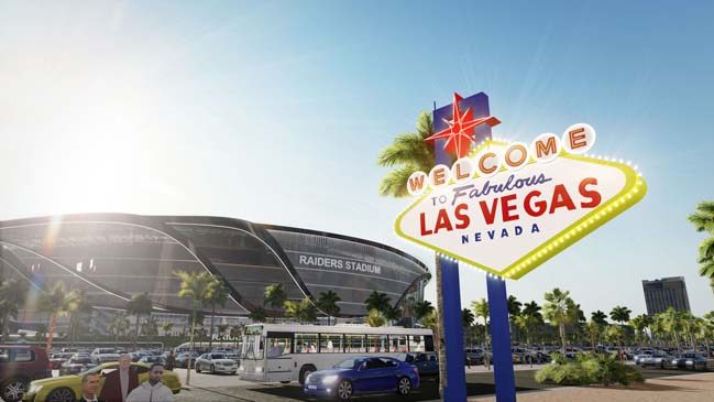 New Las Vegas NFL Raiders Stadium by MANICA