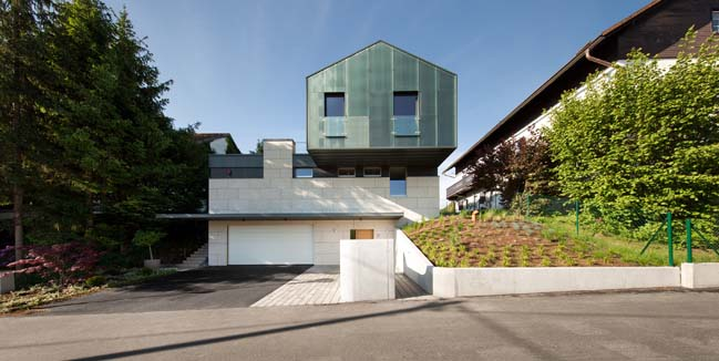 Modern detached house in Austria by Spado Architects
