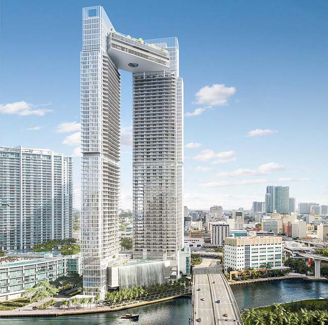 One River Point by Vinoly