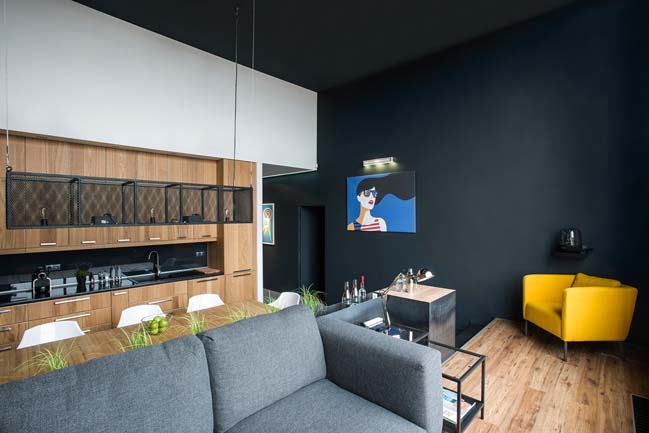 Contemporary apartment in Budapest by GASPARBONTA