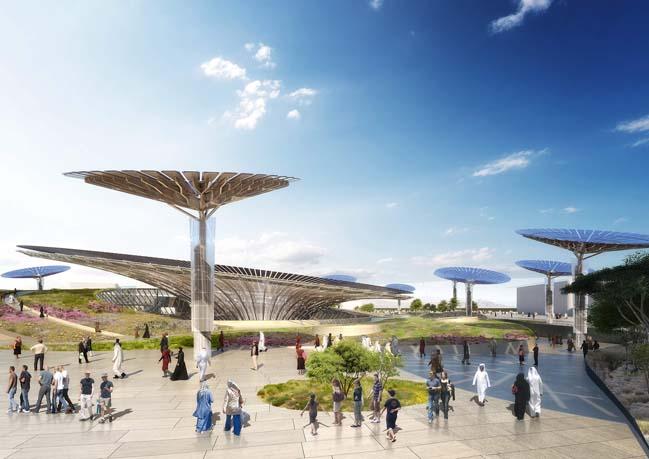Dubai Expo 2020 Sustainability Pavilion by GRIMSHAW
