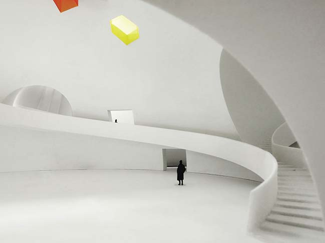 Taiwan Chinpaosan Necropolis by Steven Holl Architects