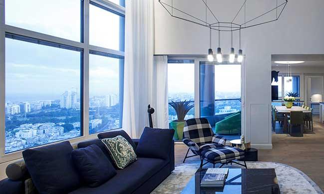 Modern apartment renovation by Gila Shemie Zakay