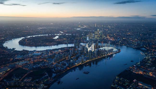 New £1billion landmark in UK by Santiago Calatrava