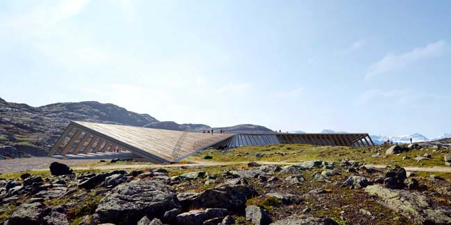 Icefiord Center by Dorte Mandrup