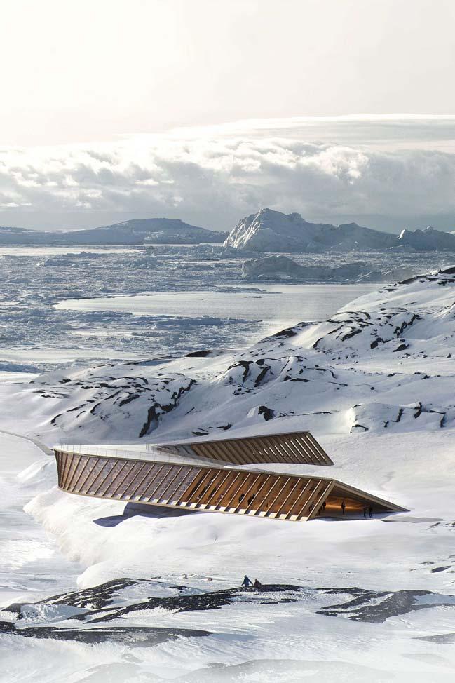 Icefiord Center by Dorte Mandrup