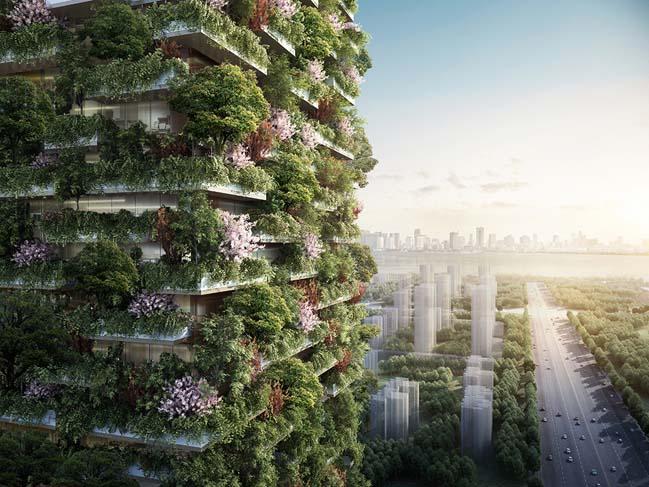 Nanjing Vertical Forest by Stefano Boeri Architetti