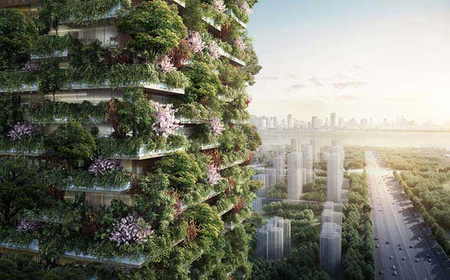 Nanjing Vertical Forest by Stefano Boeri Architetti