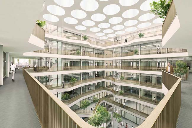 New Laboratory Building in Stockholm by C.F. Møller Architects