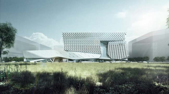 Kolon Future Research Park by Morphopedia