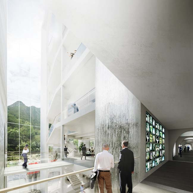 S.Pellegrino Flagship Factory by BIG