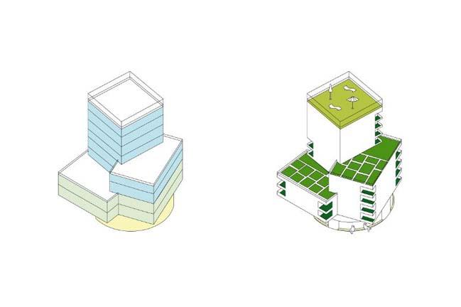 Jardin Mestropole by HHF Architects