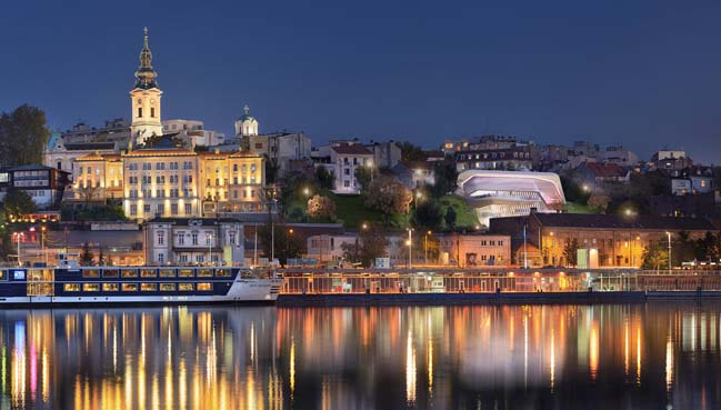 Belgrade City Art Gallery by Metroscapes