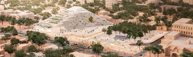 Burkina Faso National Assembly & Memorial Park