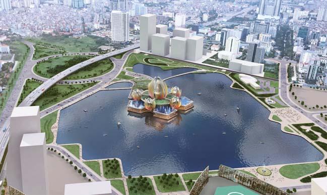 Hanoi Lotus by deciBel(Architecture)))
