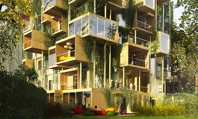 Plug-in City 75 by Stéphane Malka Architecture