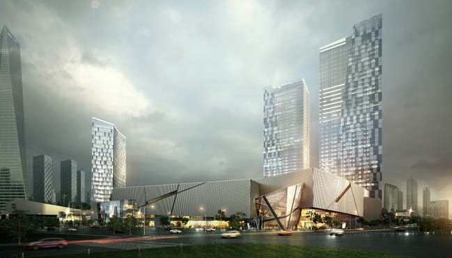 New Lotte Mall by Studio Libeskind