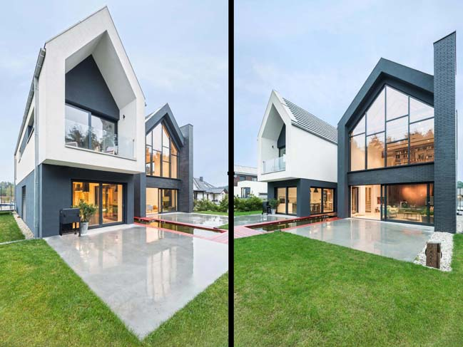 Modern house in Poland