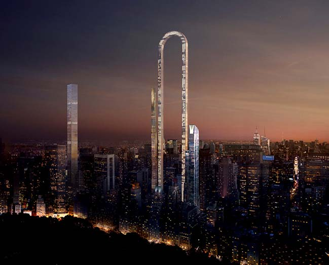 The longest building in the World by oiio architecture
