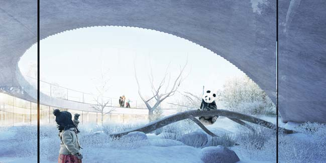 The new Panda House in Copenhagen by BIG