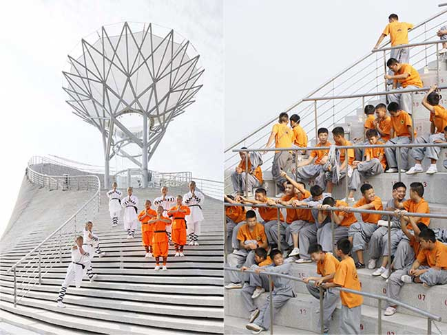 Shaolin Flying Monks Theatre by Mailitis Architects