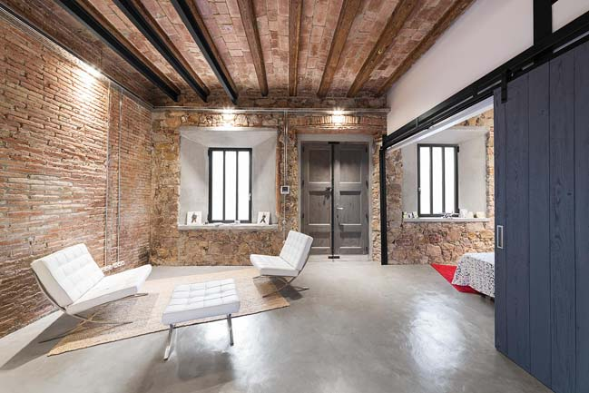 Loft mdp by ffwd arquitectos - Chambre style loft industriel ...
