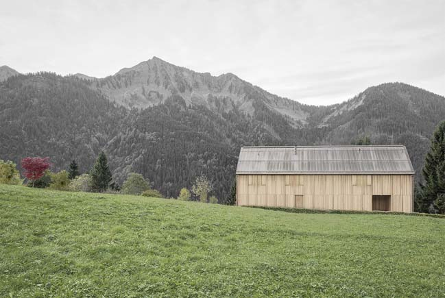 Haus am Stürcher Wald by Bernardo Bader Architects
