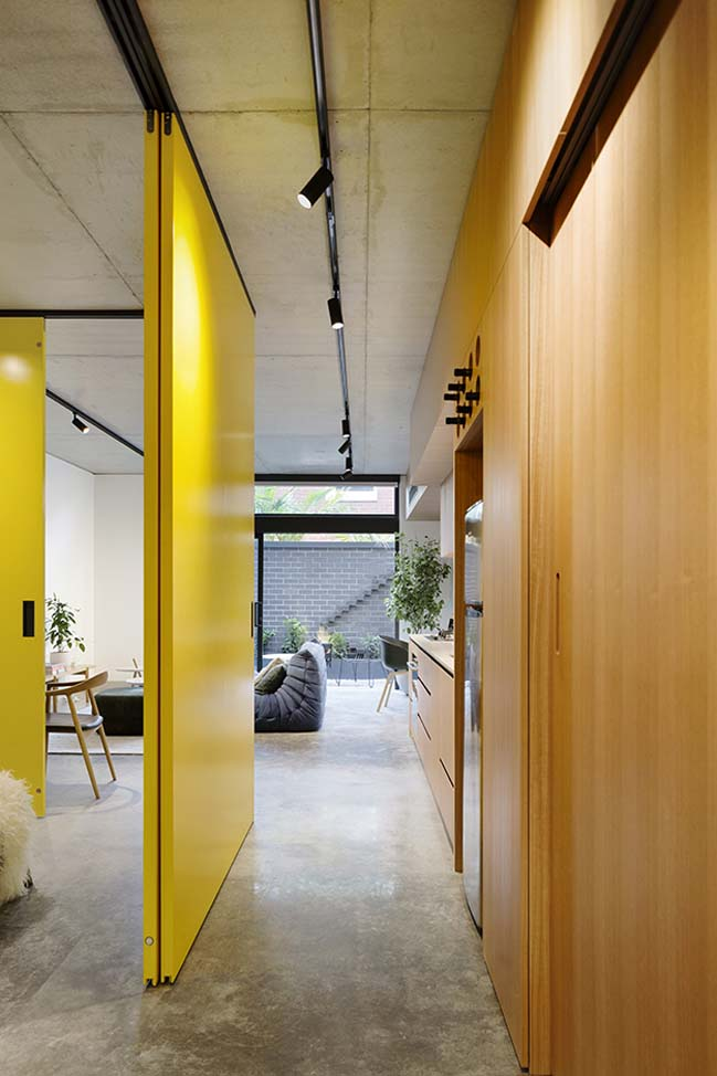 Coppin Street Apartments by MUSK Architecture