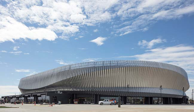 Nassau Veterans Memorial Coliseum by SHoP Architects